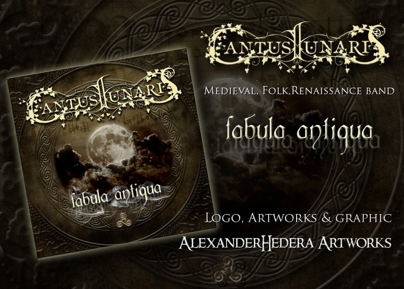 Debut -CD of Cantus Lunaris: FABULA ANTIQUA